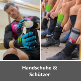 Handschuhe und Schützer
